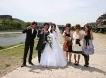 京都市のホテルにて結婚式