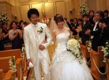 大阪中之島のリーガロイヤルホテルにて結婚式