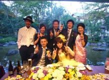 北山モノリスで結婚式