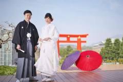 京都ロクシスイにて和装前撮り