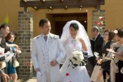 奈良市のヒルトップテラスにて結婚式