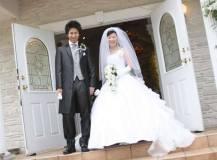 芦屋山手倶楽部嵯峨野邸にて結婚式