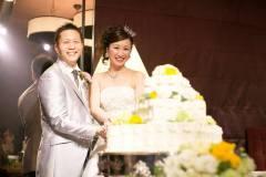 大津プリンスホテルにて結婚式