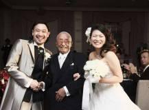 ロイヤルオークホテルにて結婚式