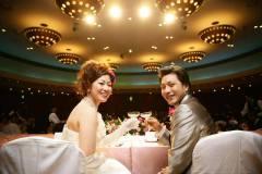 琵琶湖ホテルにて結婚式と披露宴