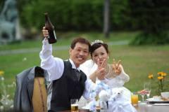 北海道にてリゾートウェディング