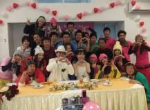 琵琶湖バレイにて結婚式パーティ