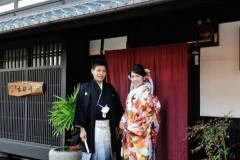 京都市にて和装前撮り