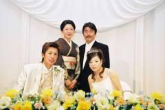 琵琶湖ホテルにて結婚式披露宴