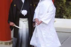 近江神宮での挙式