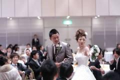 びわ湖大津プリンスホテルにて結婚式