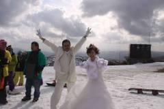 琵琶湖バレイにて結婚式