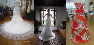滋賀でオーダードレスやリメイクドレスが人気