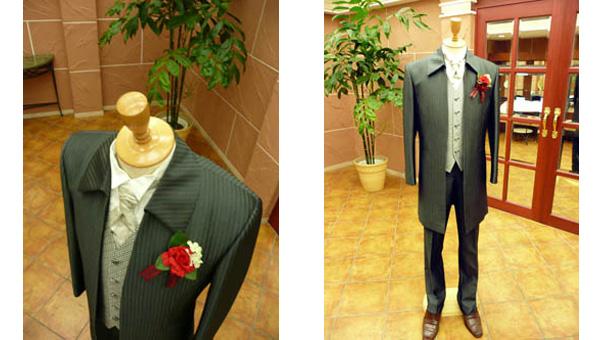結婚式での新郎タキシードのレンタルが格安で借りれるお店滋賀ブルースター