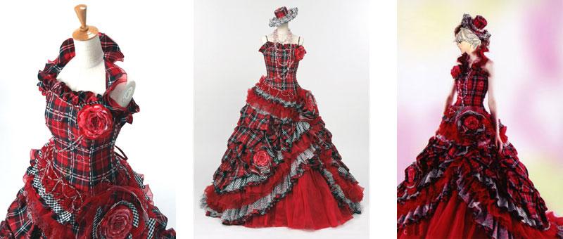 滋賀でウェディングドレスの色ドレスが格安