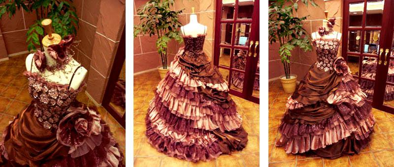 結婚式でのカラードレスの衣裳連tなるが格安