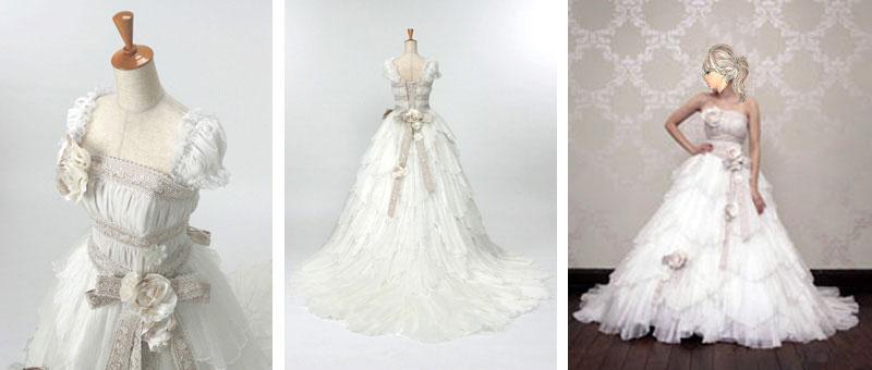 結婚式のウェディングドレスレンタルが格安で人気