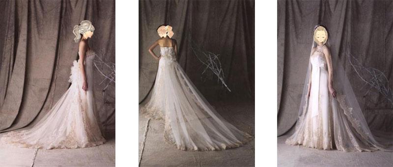 京都の結婚式場への持込みも人気のウェディングドレス