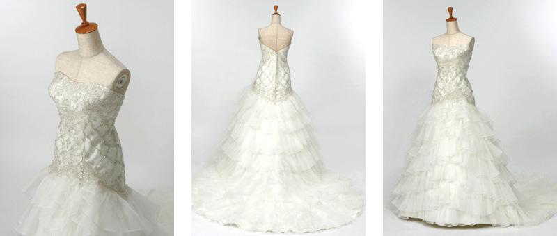 マーメイドドレス二次会衣装レンタルが格安