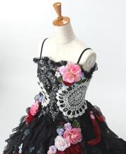 ブラックドレス黒ドレス