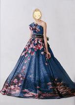 花柄模様の和風ドレスが人気の滋賀ブルースター